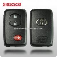 Smart Key Toyota Venza 14ACX, 315Mhz USA , Original 2 кнопки 1 кнопка(Panic), чип 6B Texas, PG1-98, 89904-0T050