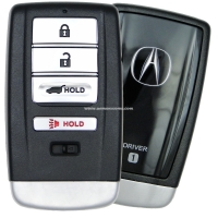 Acura MDX, RDX Smart Key 2014-2016 Driver 1