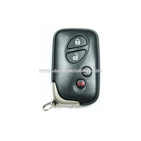 Lexus RX270, 350, 450H Original Smart ключ на 4 кнопки, для авто с 12.2008 - годов выпуска.