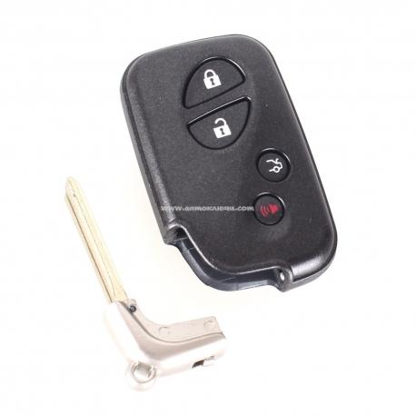 Lexus ES350, IS250, IS350, GS300, GS350, GS430, GS450h, GS460, LS460, LS600h Original Smart ключ на 4 кнопки, для авто с 11.2