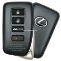 Smart Key Lexus NX 200, 200T, 300H, LX450, LX570 4 кнопки,FCC ID:HYQ14FBA, 89904-78470, для авто с 09.2015-