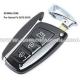 Ключ Hyundai Santa Fe/IX45 Smart Key 3 кнопки, id46(pcf7945), 433Mhz
