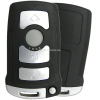 Ключ BMW 7 Series Smart на 4 кнопки , CAS1 System , чип PCF7942.
