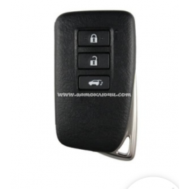 Smart Key Lexus NX 200, 200T, 300H, LX450, LX570 3 кнопки, для авто с 09.2015-, original