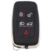 Ключ Range Land Rover KeyLess Smartkey 5 кнопок, id47(pcf7953), 434Mhz, для рынка Европы