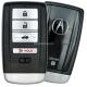 Acura TLX, ILX Smart Key 2018- Driver 1 FCC ID: KR5V21, original